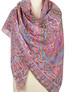 Cotton shawl ''Eastern journey''