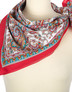Cotton head scarf ''Сuriosity''