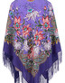 Silk shawl ''Nocturne''