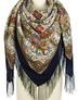 Wool shawl ''Izuminka''