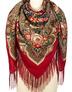 Wool shawl ''Fair's gift''