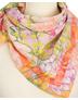 Cotton head scarf ''Hortensia''