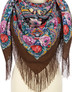 Wool shawl ''SiIver brook''
