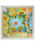 Cotton head scarf ''Cats on vacations''''