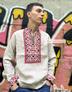 "Russian shirt linen ""Leonov"""