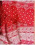 Russian linen textile ''Doves''