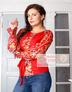 Boho linen blouse