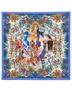 Silk shawl ''The Kingdom''