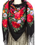 Wool shawl ''Victory Day''