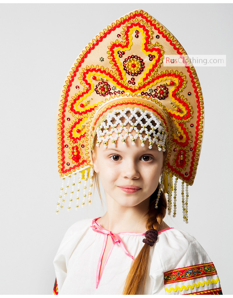 traditional russian clothing rusclothing com russian kokoshnik