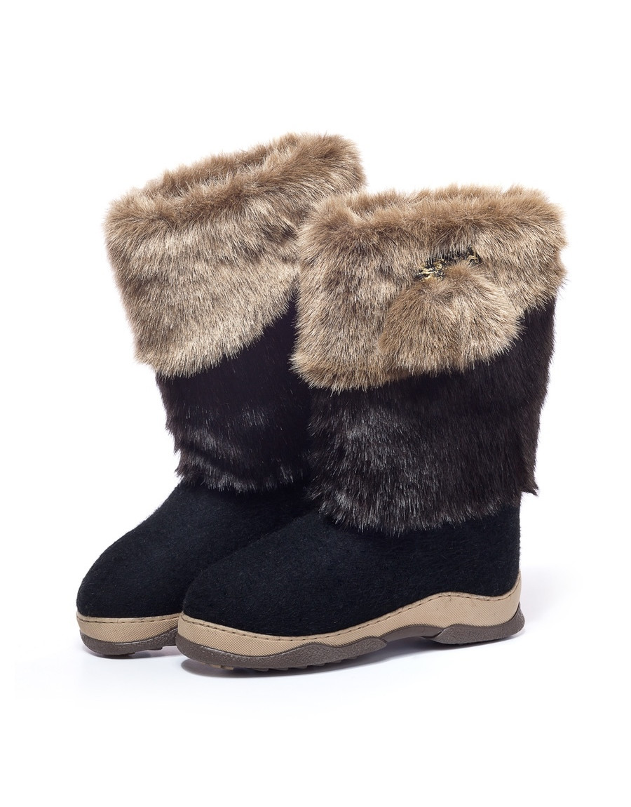 Valenki Russian Traditional Handmade Felt Home Boots 100% Wool Clothing, Shoes & Accessories Best Souvenir Boots