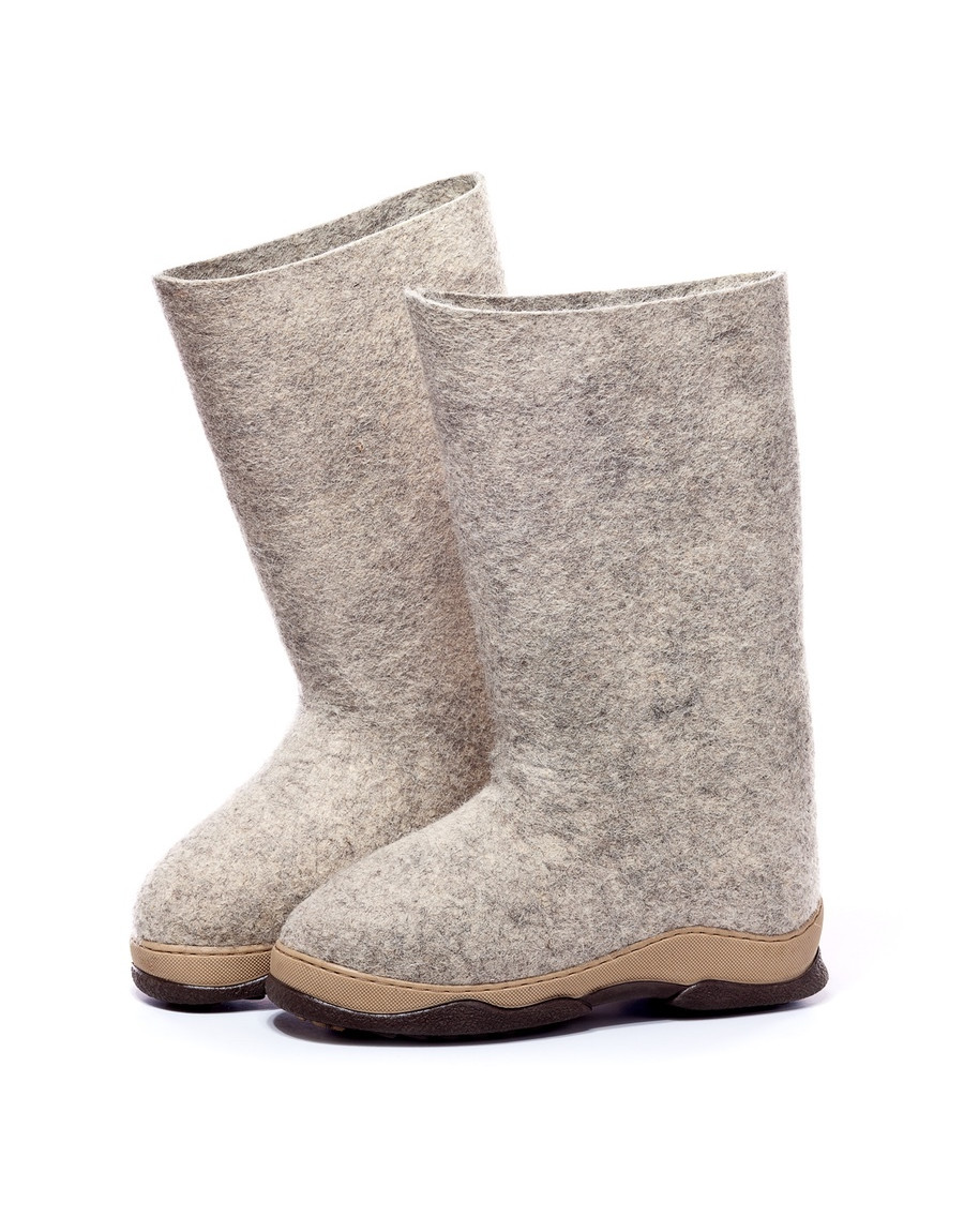 Valenki Russian Traditional Handmade Felt Home Boots 100% Wool Best Souvenir Clothing, Shoes & Accessories Crafts