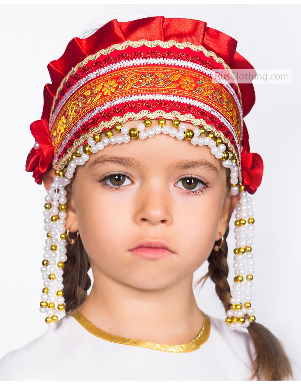 Kichka Russian hat for girls | RusClothing com