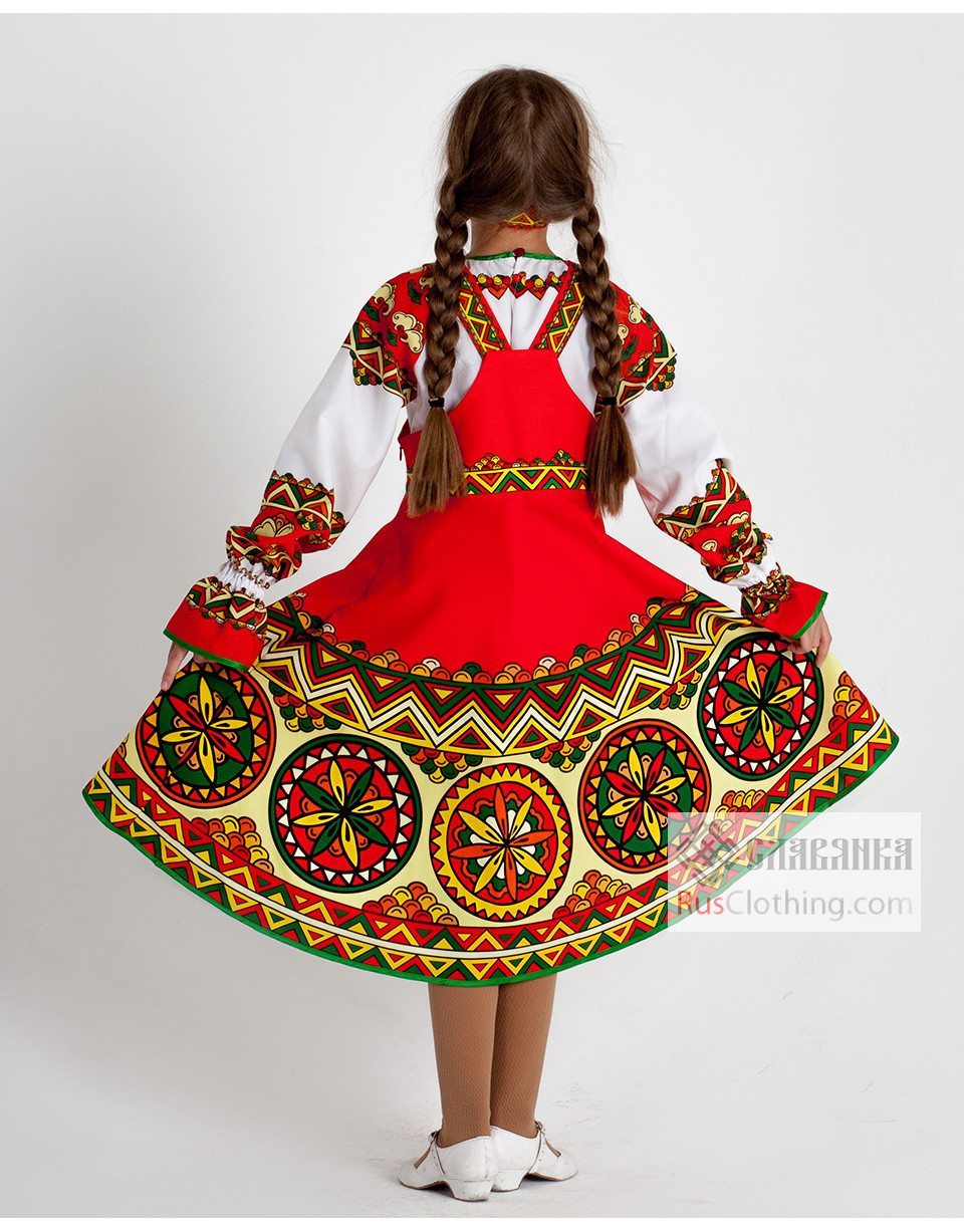 Traditional attire ''Gusack'' | RusClothing.com