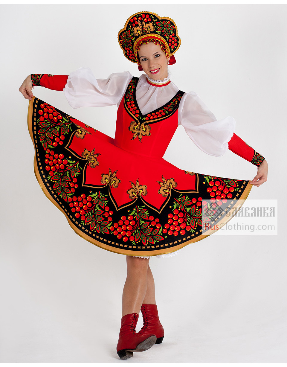 National costume ''Ashberry'' Russia | RusClothing.com