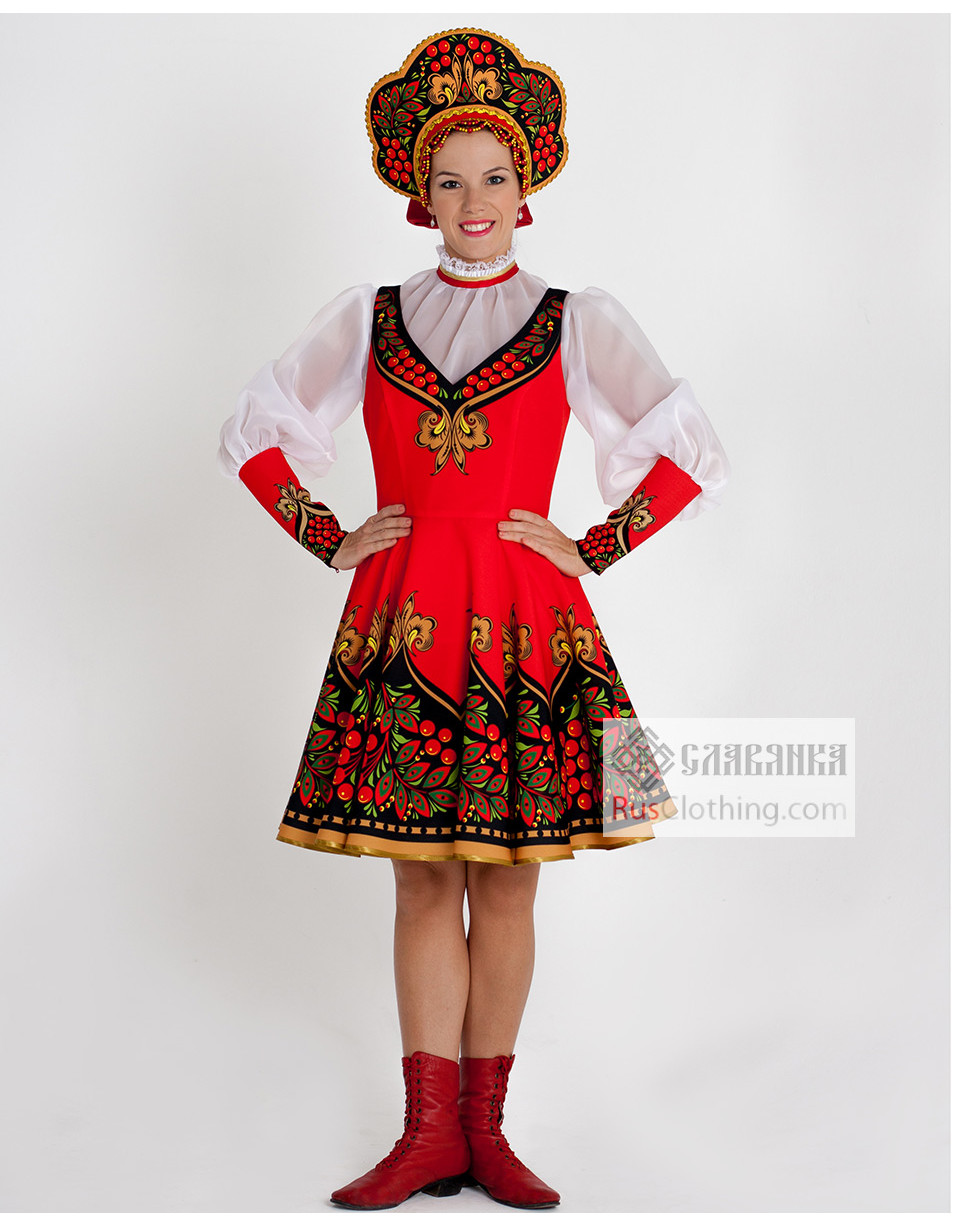 National costume ''Ashberry'' Russia