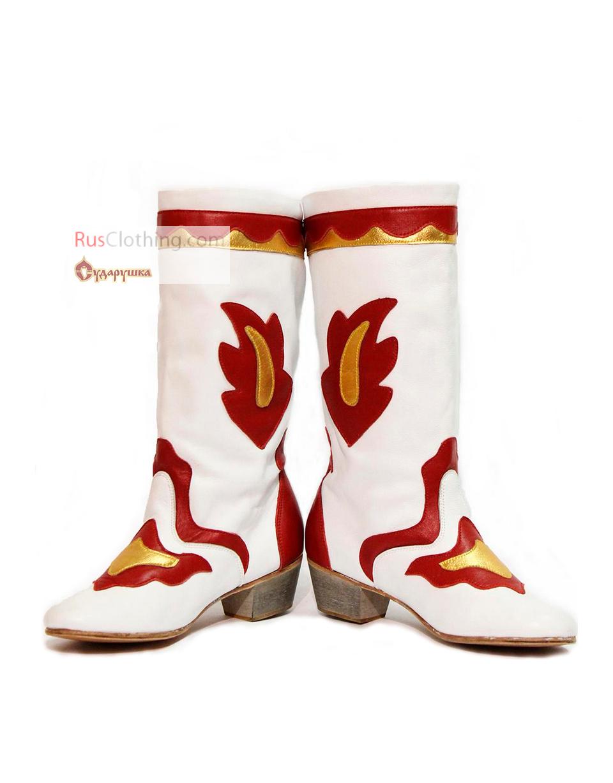 Tatar Boots Folk Dances Rusclothing Com